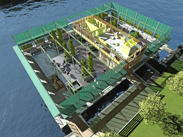 Floating Urban Dairy Farm