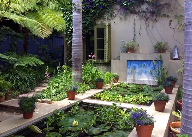 Entering the central courtyard of Casa Nancina, garden designer Nancy  Goslee Power's Santa Monica, California urban garden, I was instantly  transported away ... - A Los Angeles Landscape Designer's Moroccan Style Urban Garden