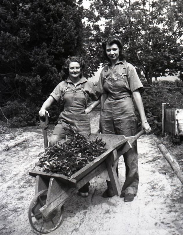Farmerettes, the Women Who Farmed and Gardened for Victory