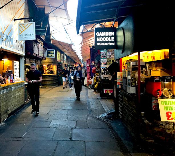 Camden Noodle at London's Camden Market.