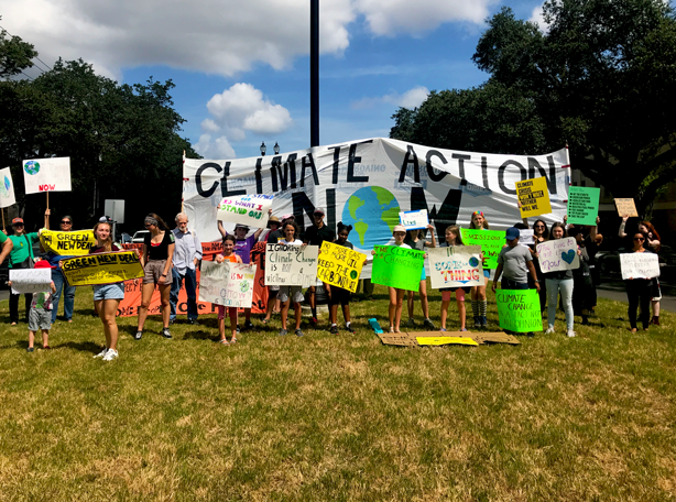 #StrikeWithUs_climate_change_rally_neworleans