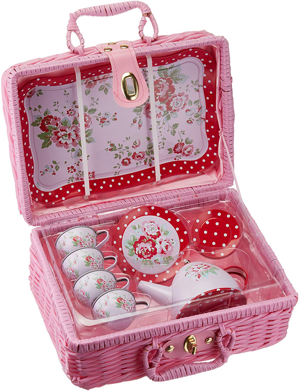 childrens_tin_tea_set_rose_polkadots_in_wicker_case