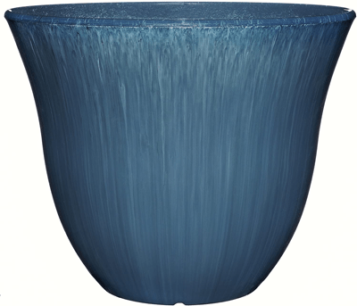 blue_resin_faux_glased_clay_garden_planter_pot