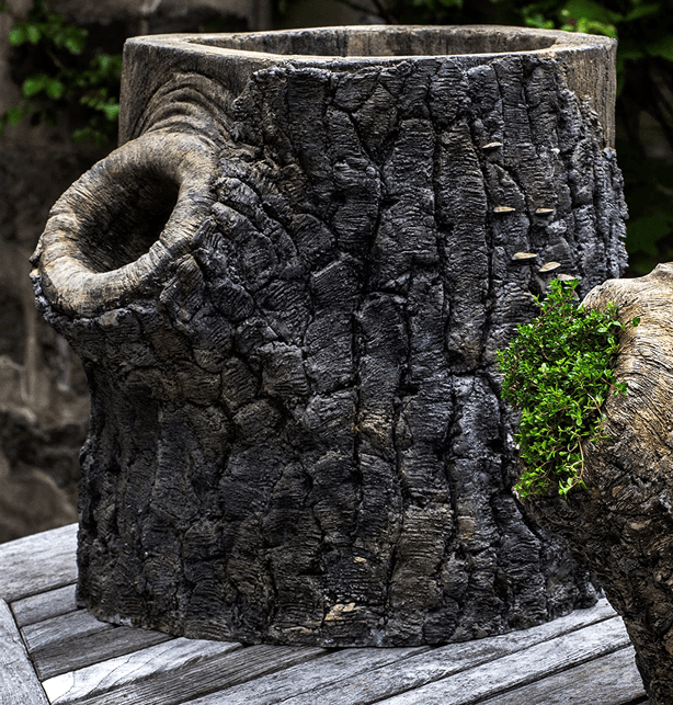 stone_tree_stump_outdoor_garden_planter