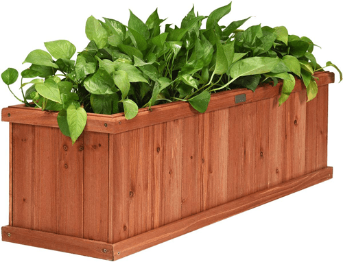 wood_raised_bed_garden_planter