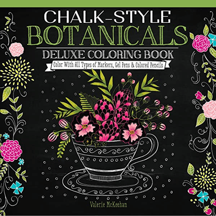 chalk_style_botanical_art_adult_coloring_book