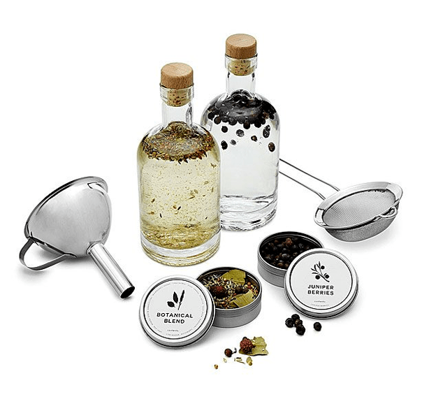 homemade gin making kit