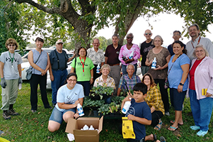 Community Gardens Prepare for Fall Planting during HUB Distribution Day