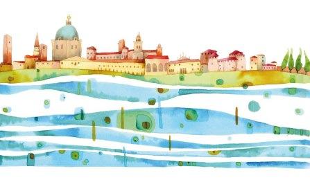 Nella città di Mantova