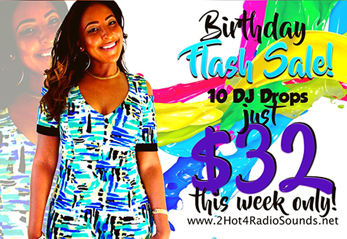 Nikki Nikole's Birthday Flash Sale 10 Custom DJ Drops For $32