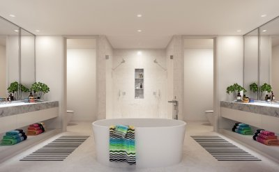 Missoni Baia Master Bathroom