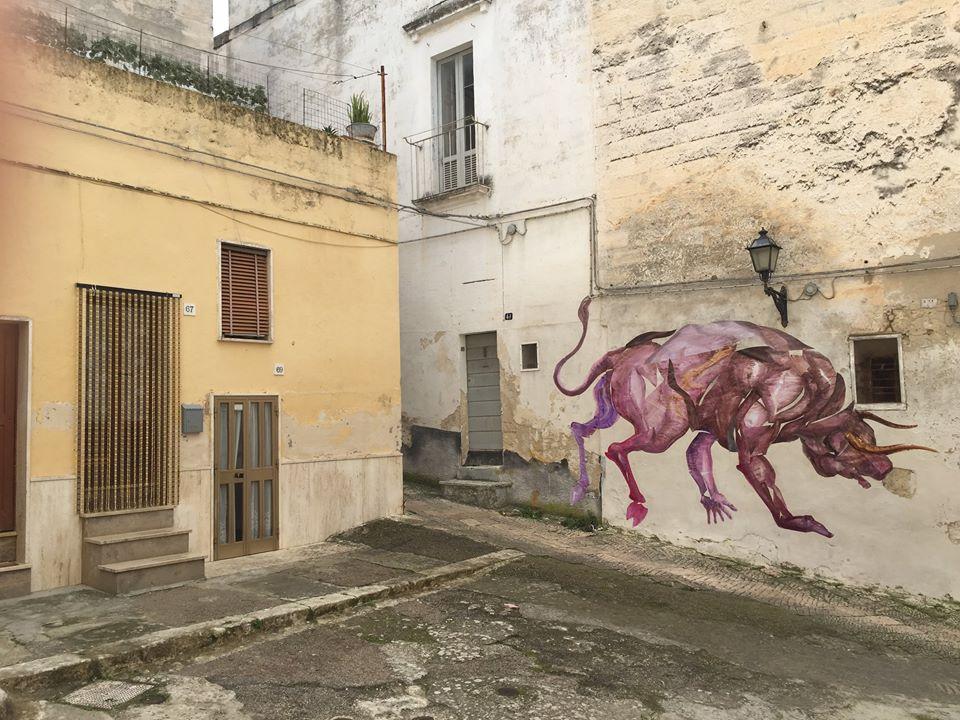 Franco Fasoli Jaz New Street Piece In Grottaglie It Urbanite