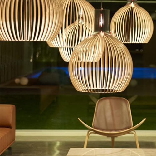 octo suspension urban lighting