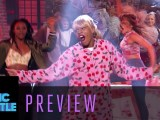 """Bryshere Gray as Taylor Swift syncs """"We Are Never Ever Getting Back Together"""" 