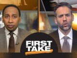 First Take reacts to Zaza Pachulia falling on Russell Westbrook