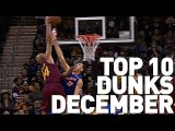 Top 10 Dunks of December 2016