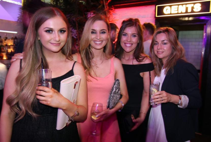 Jane, Megan, Kate and Ciara from Urban Media
