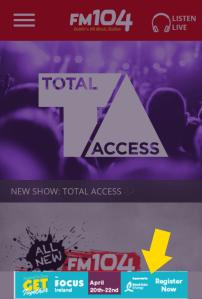 Mobile Ad Position FM104.ie