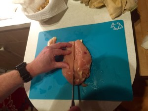 Escaloped Chicken, Step by Step