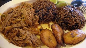 Great Cuban food always has Moros