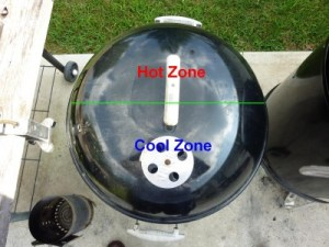 Setting up a 2 Zone Grill