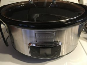 The Frigidaire Professional Slow Cooker