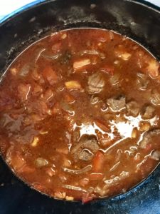 Stew ready to go low and slow