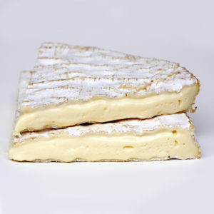 Brie - Creamy, ethereal cheese with a delightfully bitter rind.