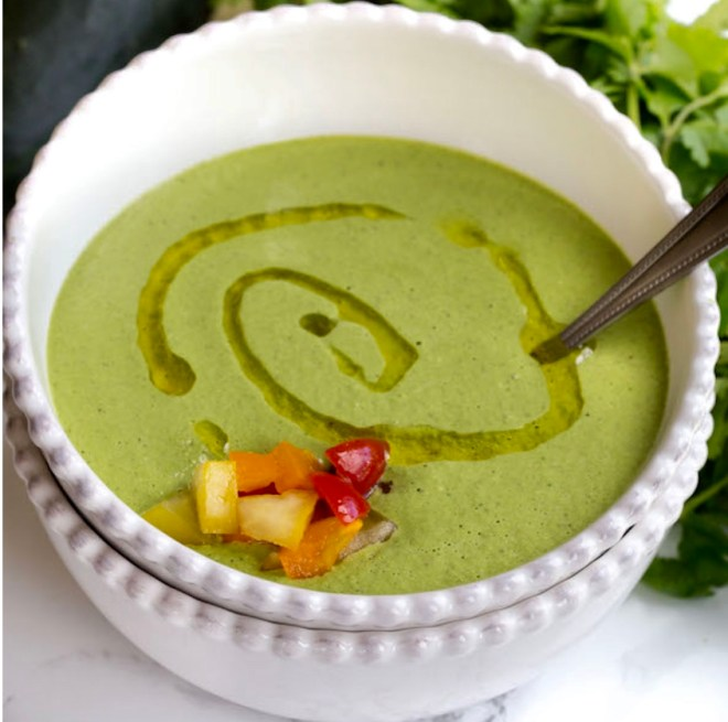 Gazpacho Verde - All about New World flavors