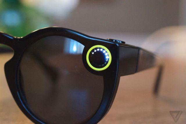 <em>First generation of Spectacles launched in 2016.</em>
