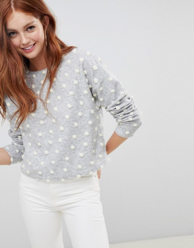 STYLECASTER   Popcorn Sweaters Are Here to Make Your Cold-Weather Wardrobe Even Cozier