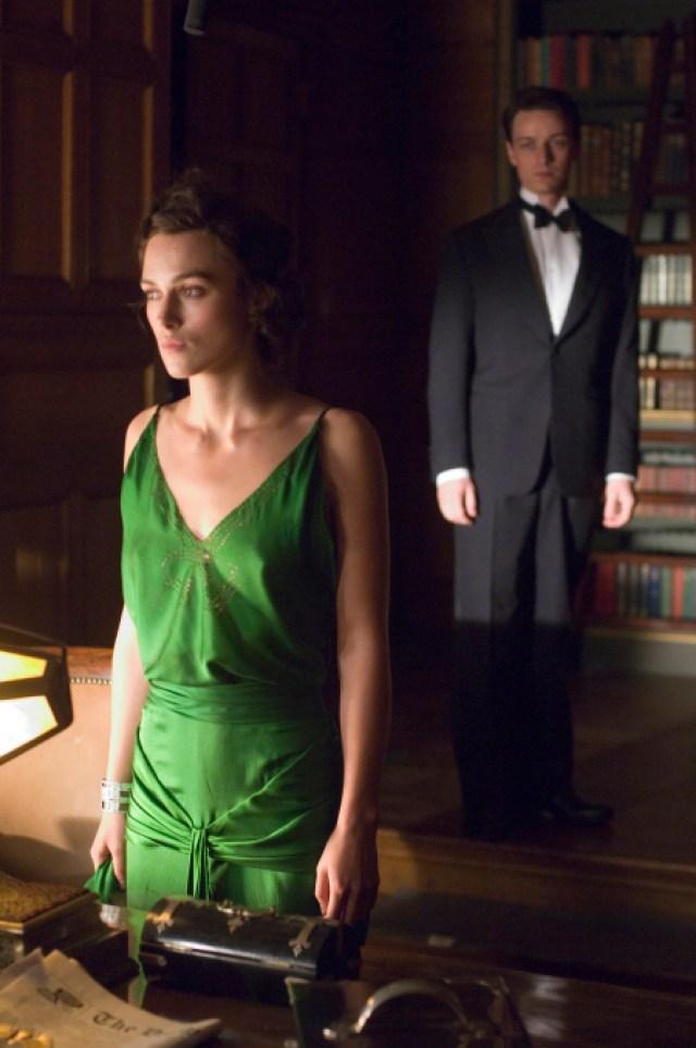 Cecilia Tallis' Paper-Thin Silk Gown in 'Atonement'