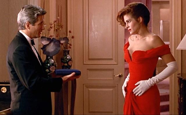 Vivian's Red Opera Gown in 'Pretty Woman'