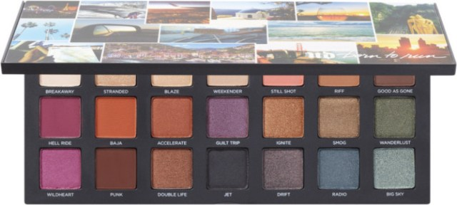 urbandecay borntorun palette stylecaster Jewel Toned Eyeshadow is the Must Have Missing From Your Winter Makeup Routine