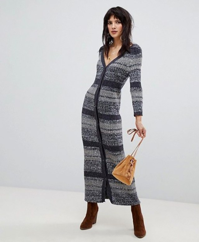 STYLECASTER | Winter Maxi Dresses Are Officially a Thing