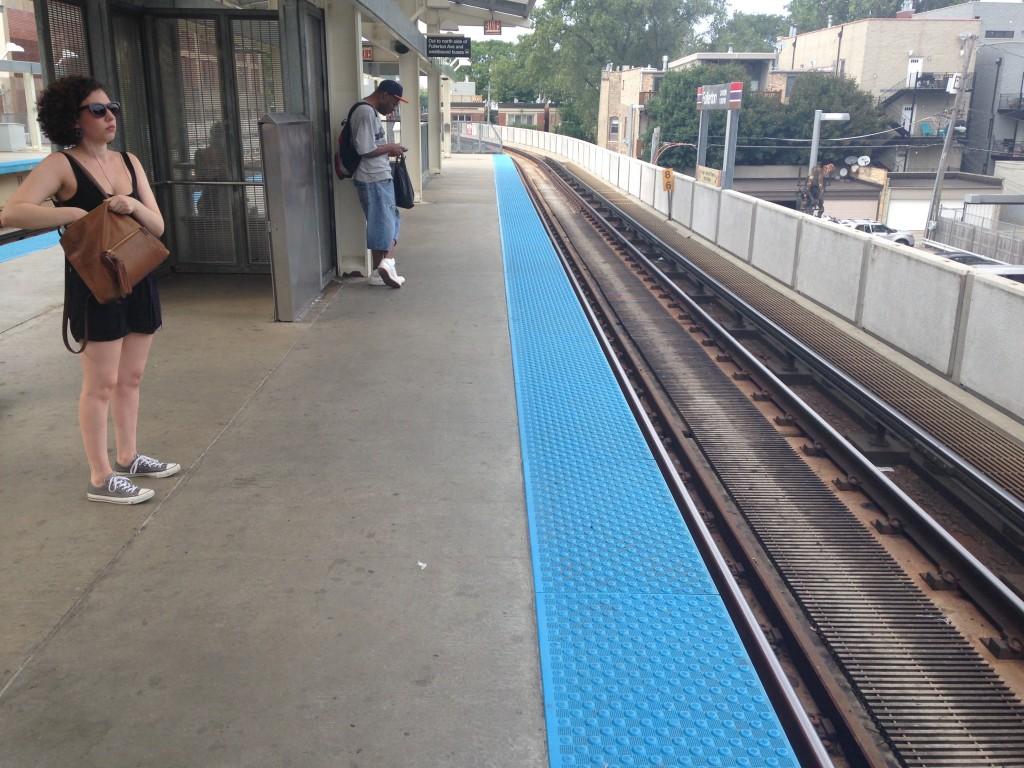Fullerton L platform.