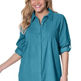 Plus Size Shirt In Soft Cotton