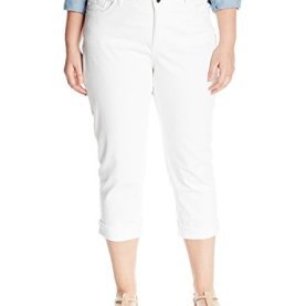 Easy Fit Cameron Cuffed Capri Jean