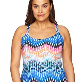 Making Waves Racer Back Tankini Top