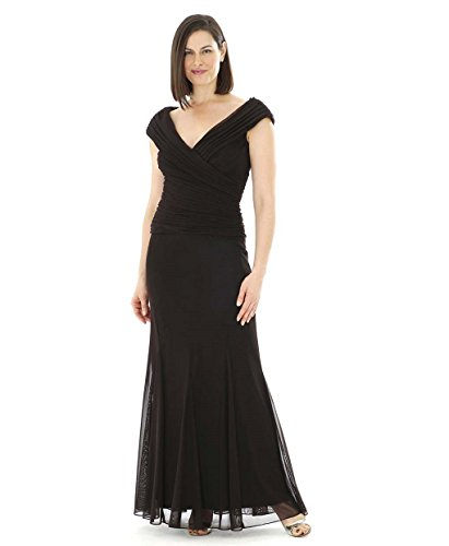 Plus Size Black Tie Gown - Urbanplussizeclothing.org