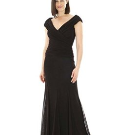 Plus Size Black Tie Gown