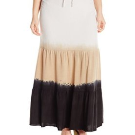 Dip Dyed Cover Up Skirt