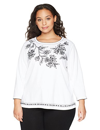Floral Yoke Embroidered Top