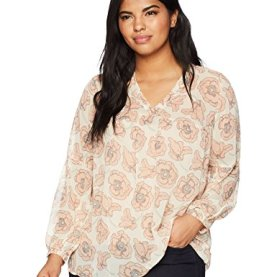 Exploded Floral Top Blouse