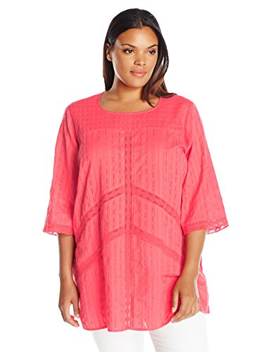 Scoop Neck Lace Detail Tunic
