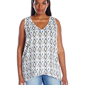 Plus Size Asymmetrical Tank