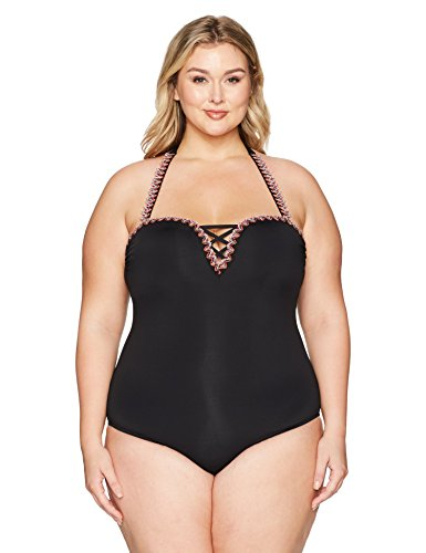 Mardi Gras One Piece Swimsuit