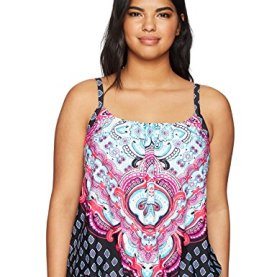 Carpet Ride Blouson Tankini Top