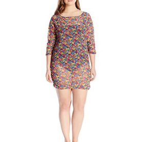 Growing Floral Mesh Cover up