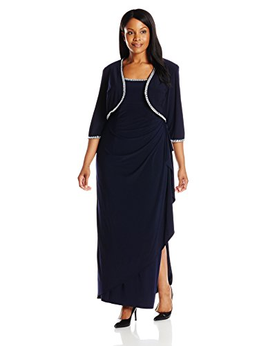 Side Ruched Bolero Jacket With Gown